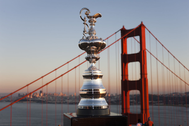 2 america's cup trophy - greatest trophies in sports