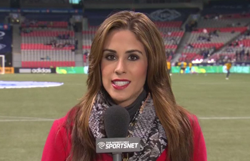 20 kelli tennant (tws sportsnet sideline reporter covers galaxy) - hottest soccer reporters around the world