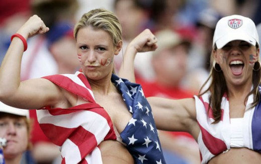 21 usa 2 - hottest fans 2014 fifa world cup