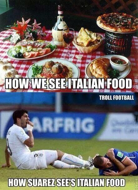 22 italian food - suarez bite memes