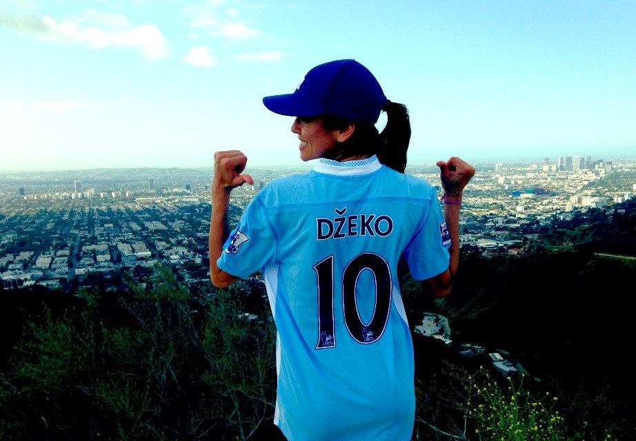 24 bosnia 3 (Dzeko gf Amra Silajdzic) - hottest fans 2014 fifa world cup