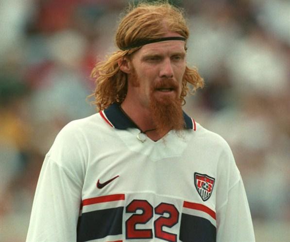 25 alexi lalas (usa 1998) - greatest world cup hairdos
