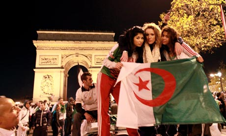 25 algeria 1 - hottest fans 2014 fifa world cup