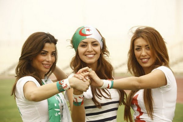 25 algeria 2 - hottest fans 2014 fifa world cup