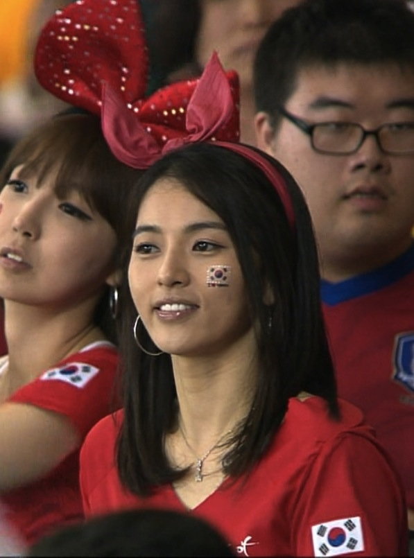 26 south korea 1 - hottest fans 2014 fifa world cup