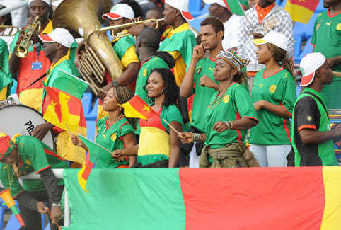 27 cameroon 1 - hottest fans 2014 fifa world cup