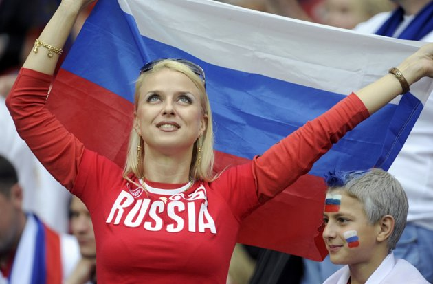 28 russia 1 - hottest fans 2014 fifa world cup