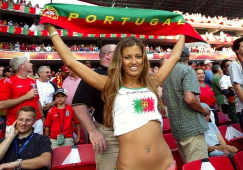 3 portugal 2 - hottest fans 2014 fifa world cup