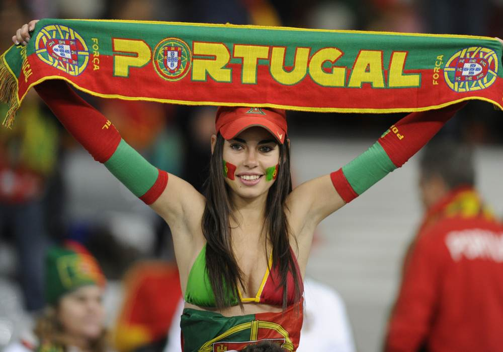 3 portugal 3 - hottest fans 2014 fifa world cup