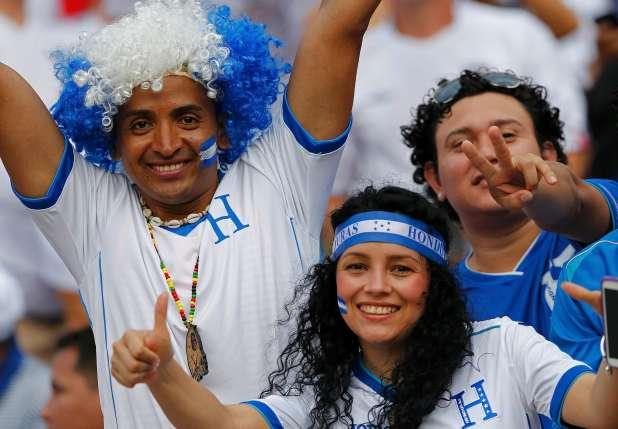 30 honduras 3 - hottest fans 2014 fifa world cup