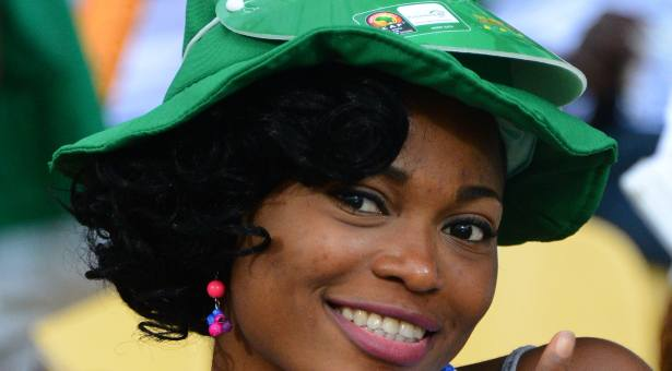 31 nigeria 1 - hottest fans 2014 fifa world cup