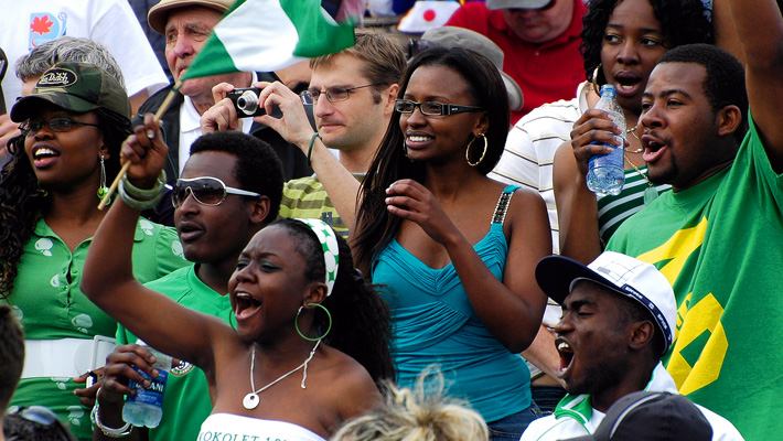 31 nigeria 2 - hottest fans 2014 fifa world cup
