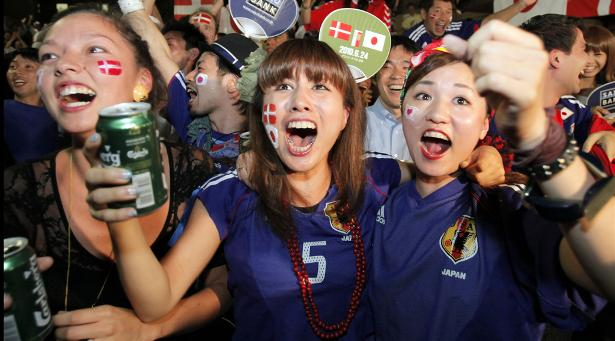 32 japan 2 - hottest fans 2014 fifa world cup