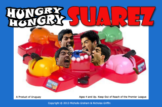 4 hungry hungry suarez suarez opponents jersey cuts of meat - luis suarez bite memes and tweets