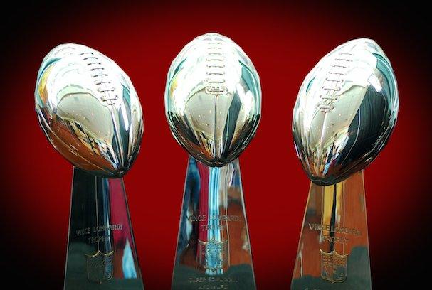 4 lombardi trophy (nfl)  - greatest trophies in sports