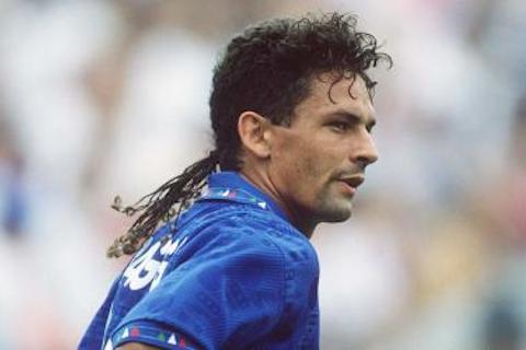 4 roberto baggio (italy 1994) - greatest world cup hairdos