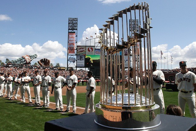 5 mlb commissioners trophy - ugliest trophies in sports
