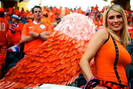 5 netherlands 3 - hottest fans 2014 fifa world cup