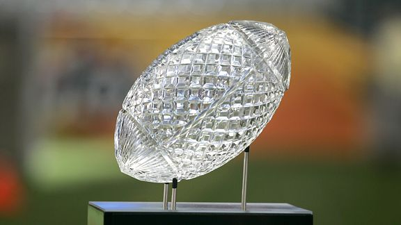 6 bcs national championship trophy - ugliest trophies in sports