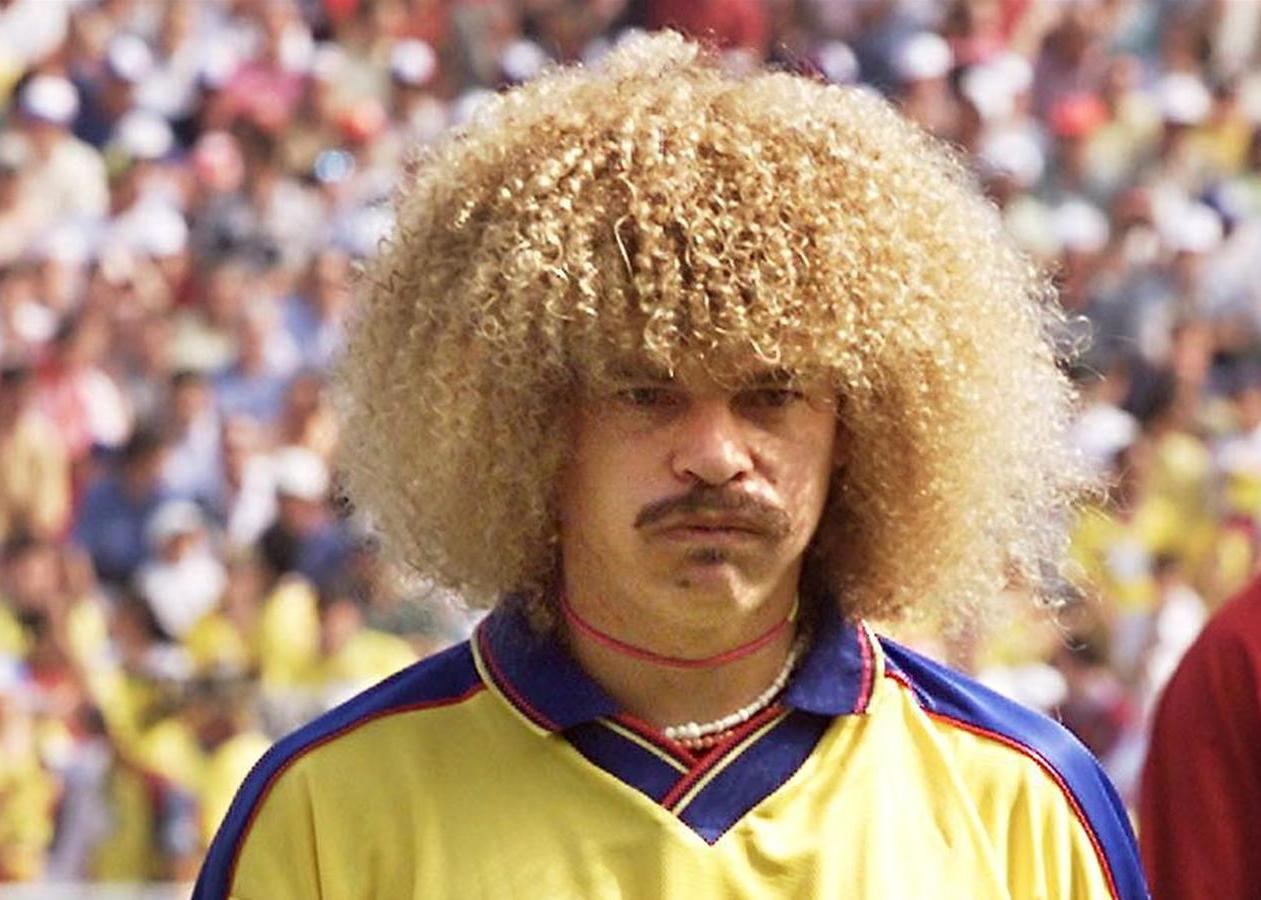 6 carlos valderrama (colombia 1994) - greatest world cup hairdos