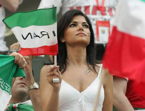 6 iran 1 - hottest fans 2014 fifa world cup