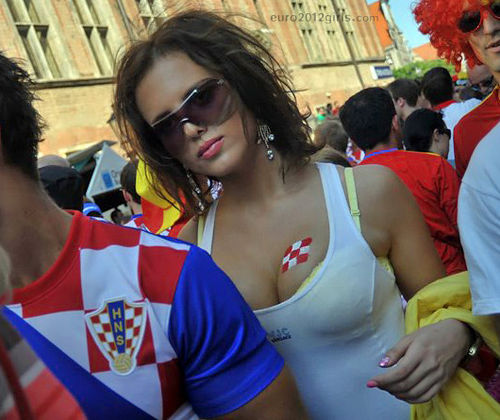 7 croatia 2 - hottest fans 2014 fifa world cup