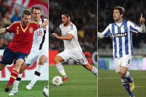 8 asier illarramendi isco inigo martinez (spain) - best players not playing in 2014 world cup