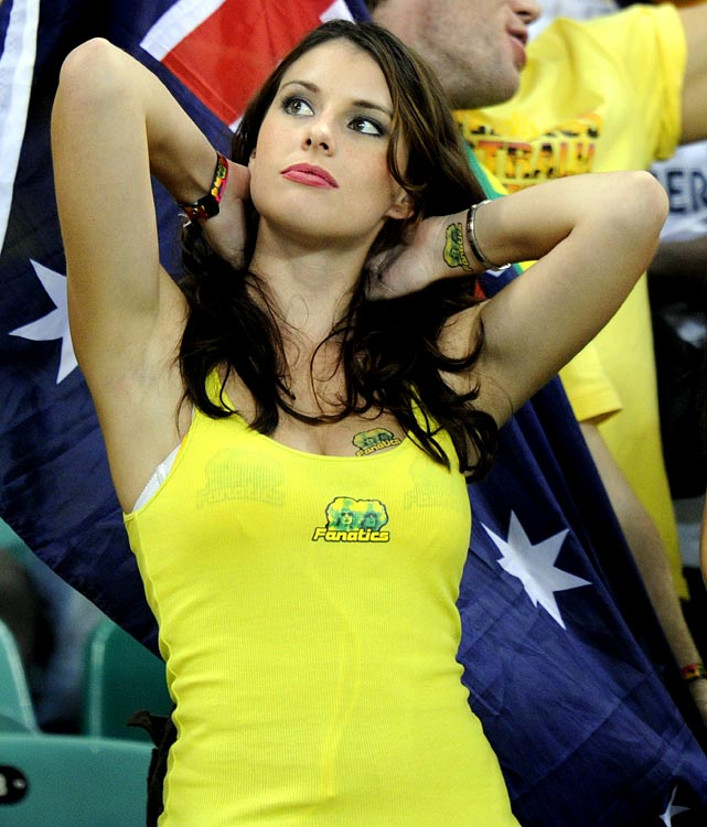 8 australia 1 - hottest fans 2014 fifa world cup