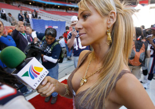 8 ines sainz (tv azteca soccer reporter) - hottest soccer reporters in the world