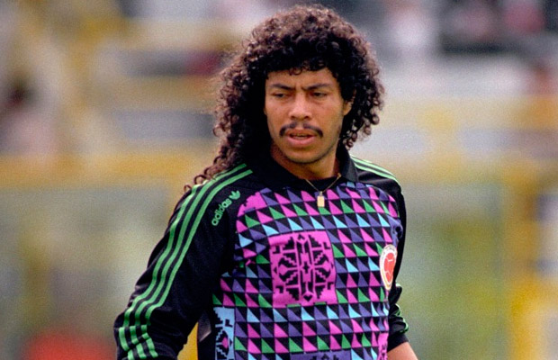 8 rene higuita (colombia 1990) - greatest world cup hairdos