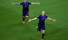Arjen Robben and Robin van Persie Score Two Goals Each During Holland's 5-1 Trouncing of Spain (Videos)