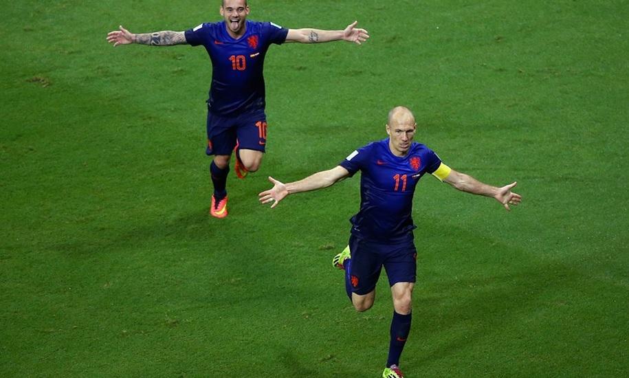 Arjen Robben goal