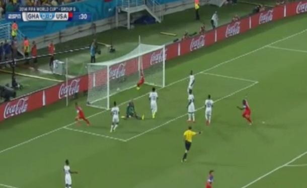 Clint Dempsey goal usa vs ghana