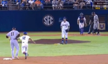 Florida Gators Baseball Team Pulls Hidden Baseball Trick (Video)