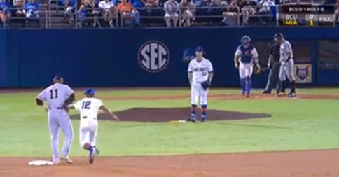 Gators' Hidden Ball Trick