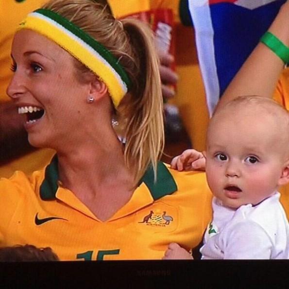 Hot Australian World Cup Mom