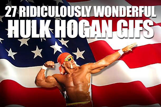 Hulk Hogan GIFs (Hulk Hogan American Flag)