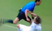 Jermaine Jones Gets Blown Up By Referee During USA vs. Germany Match at World Cup (Video)