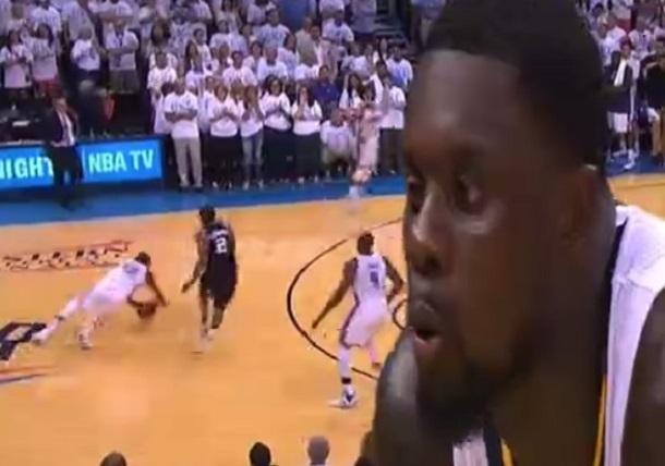 Lance Stephenson blow on KD