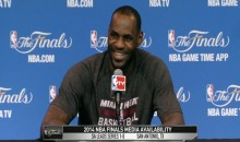 "LeBron James Imitates Allen Iverson's ""Practice"" Speech During Press Conference (Video)"