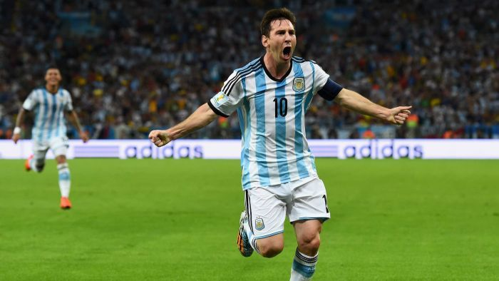Lionel Messi goal Argentina vs. Bosnia