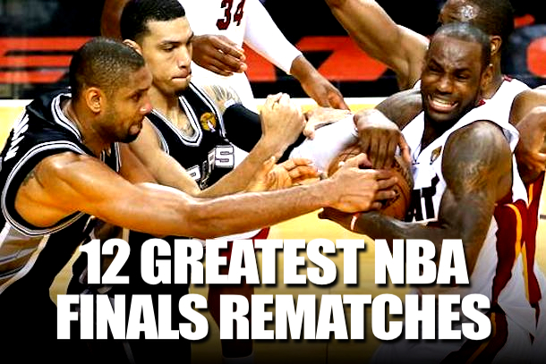 NBA FINALS REMATCHES