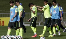 Boy in Wheelchair Shows Off Soccer Skills to Brazilian National Team (Video)