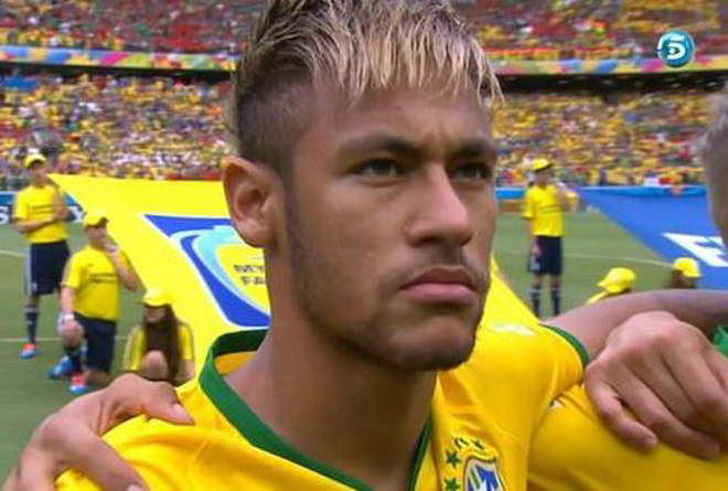 Neymar frosted tips 2