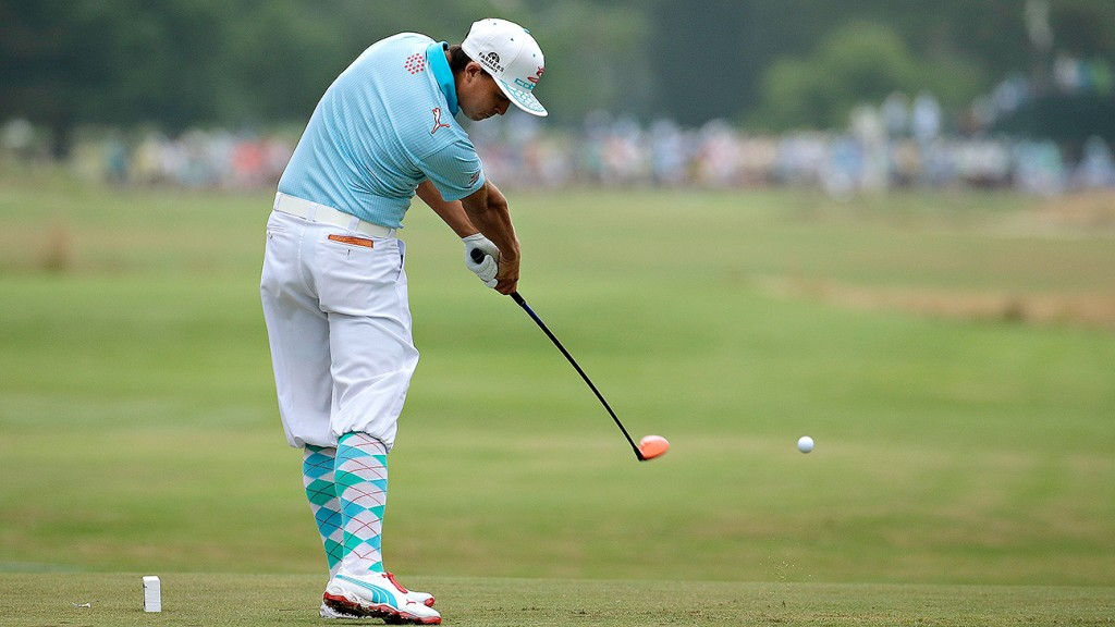 Rickie Fowler pays tribute to Payne Stewart