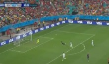 Holland's Robin van Persie Scores Amazing Header for His First Goal of the 2014 World Cup (Video)