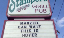 Ohio Bar Sign Tells Johnny Manziel To Stick It Because 'This Is Hoyer Country' (Photo)