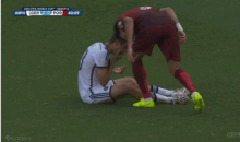 Portugal's Pepe Shown a Red Card After Headbutting Germany's Thomas Müller at World Cup (GIF)