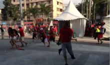 Chilean Fans Bust Into Brazil's World Cup Media Center, Wreak Havoc Trying To Watch Game (Video + Photos)