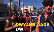 Jimmy Kimmel Offers $100 to Anyone Who Can Spell Dwyane Wade's Name Correctly (Video)